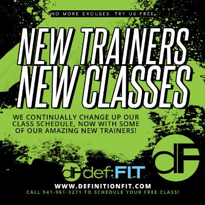 New Trainers, New Classes
